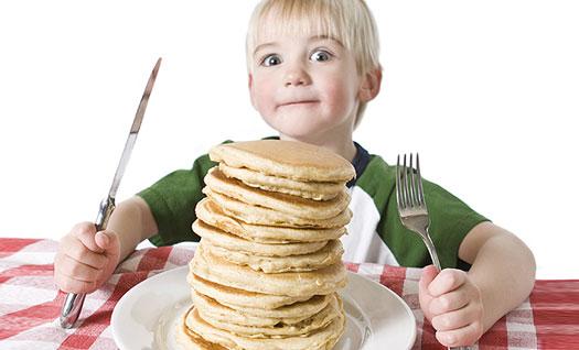 مراقب غذا خوردن فرزندانتان باشید