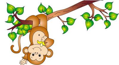 داستان کودکانه میمون بازیگوش
