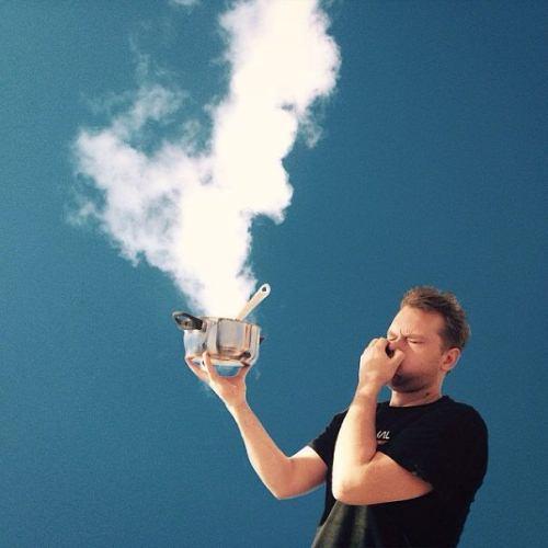عکسهایی از بازی با ابرها
