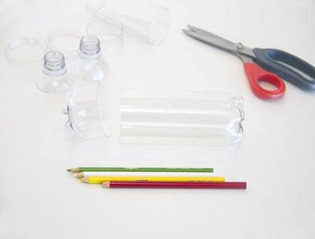 ساختن جامدادی با بطری آب