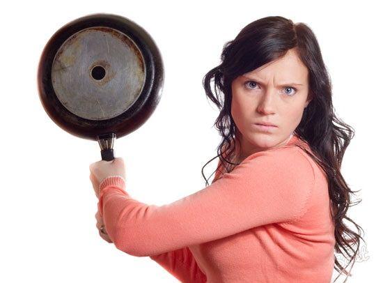 با عصبانیت خانمها در منزل چه کنیم؟