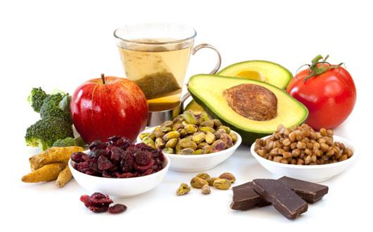 مواد غذایی سرشار از فلاوونوئیدها