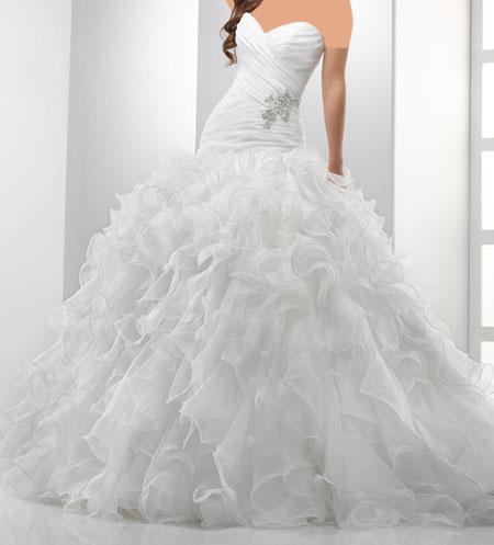 جدیدترین مدل های لباس عروس بهار 95