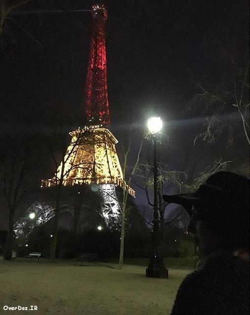 عکس جدید هلیا امامی در پاریس