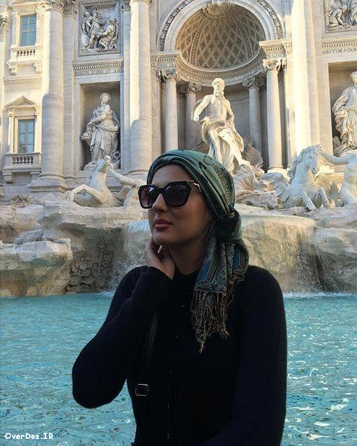 عکسهای جدید هلیا امامی در پاریس