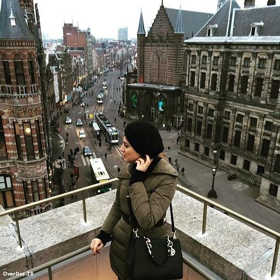 جدیدترین عکس هلیا امامی