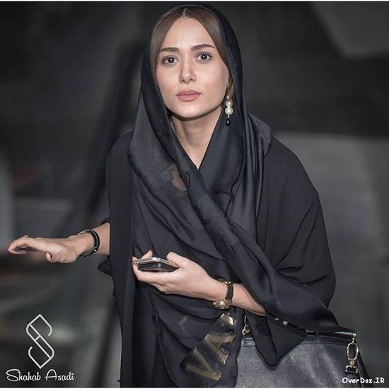 عکس زیبای پریناز ایزدیار
