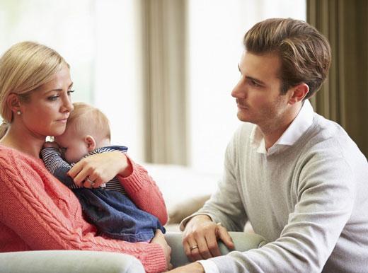 دلایل عصبانیت تازه مادرها از پدر خانواده