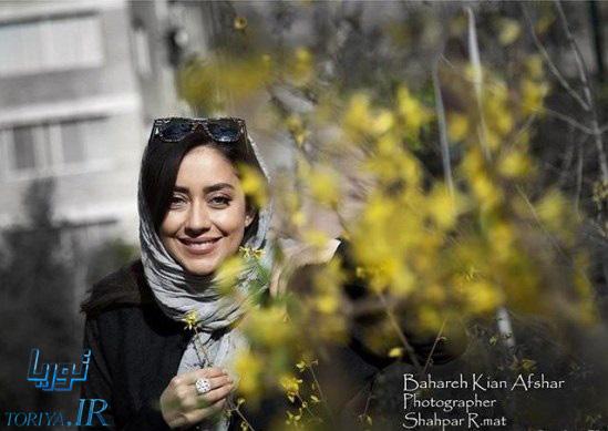زیباترین عکسهای بهاره کیان افشار