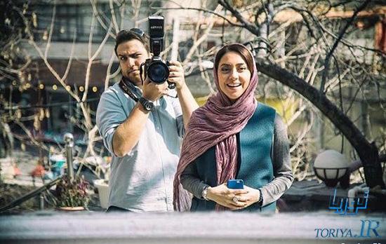 عکس بهاره کیان افشار در نوروز ۹۵
