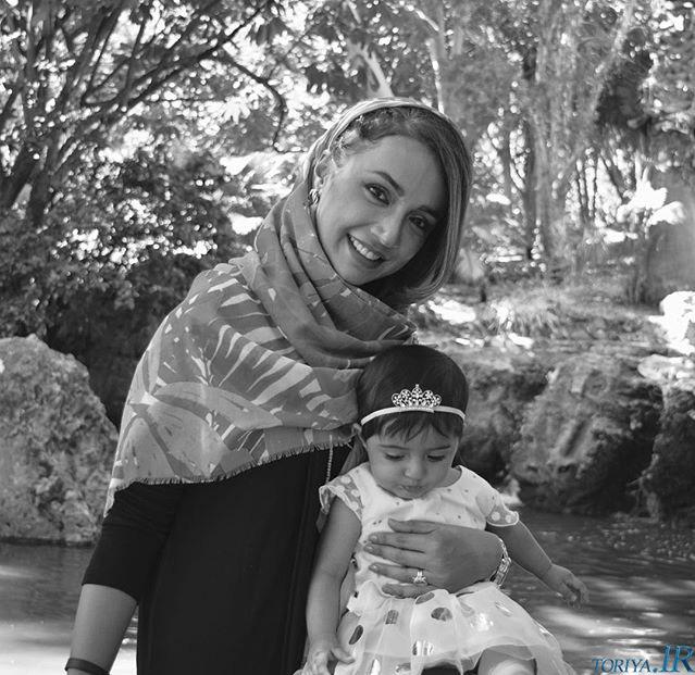 عکس جدید شبنم قلی خانی و دخترش شانا