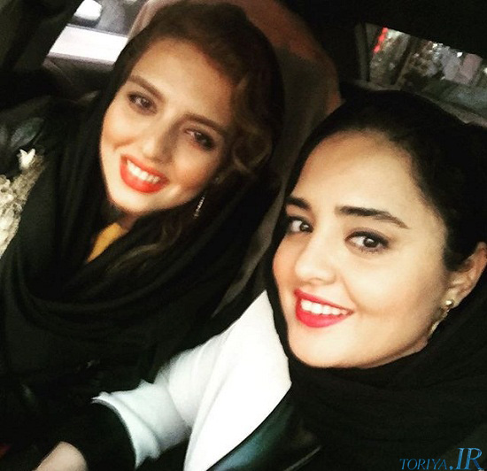 جدیدترین عکس نرگس محمدی و خواهرش