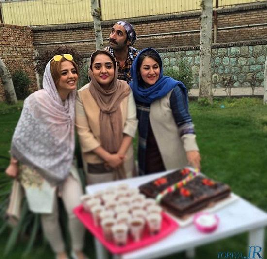 هادی کاظمی – ستاره اسکندری – نرگس محمدی و خواهرش