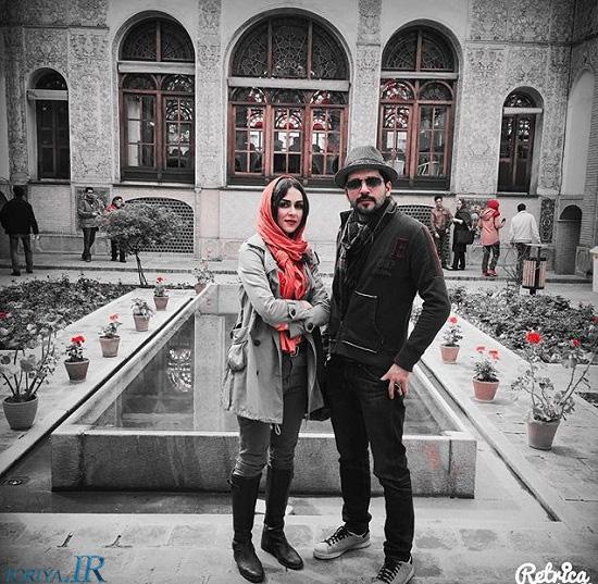 عکس کمیاب شیوا ابراهیمی