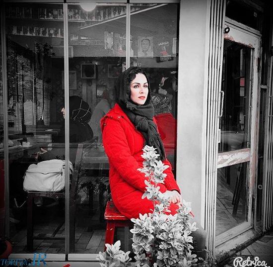 عکس شیوا ابراهیمی در نوروز ۹۵