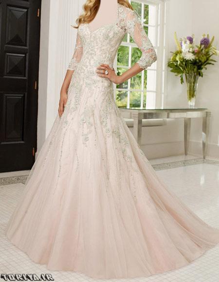 عکس مدل جدید  لباس عروس آستین دار 95