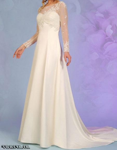 شیک ترین لباس عروس های آستین دار سال 95