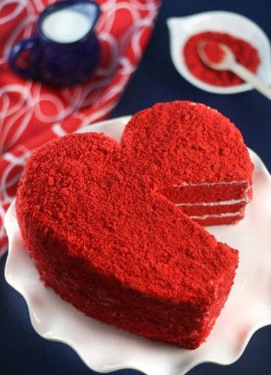 کیک مخملی عشقولانه، مخصوص تولد
