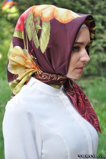 عکس مدل روسری ترک سال 95