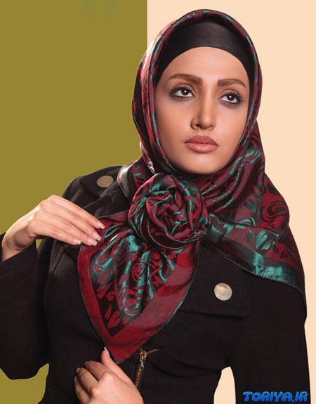مدل روسری و شال مجلسی بهار 95