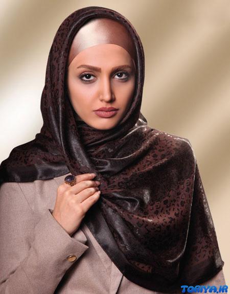 جدیدترین مدل های شال و روسری ایرانی 95