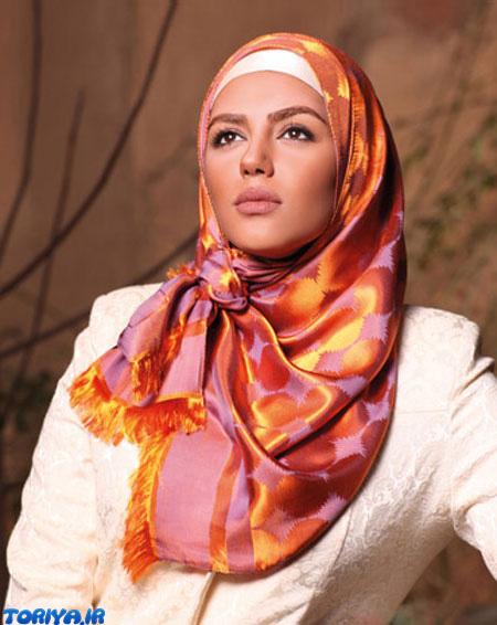 مدل روسری و شال مجلسی