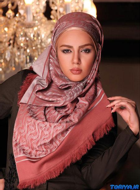 مدل روسری و شال مجلسی 95