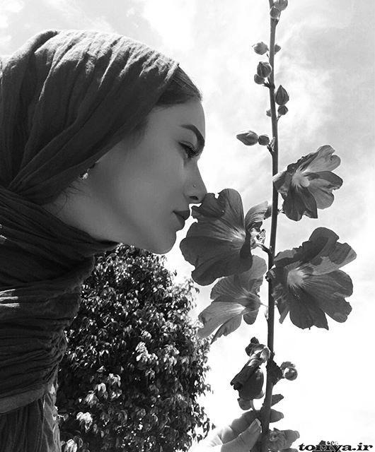 عکس زیبای متین ستوده