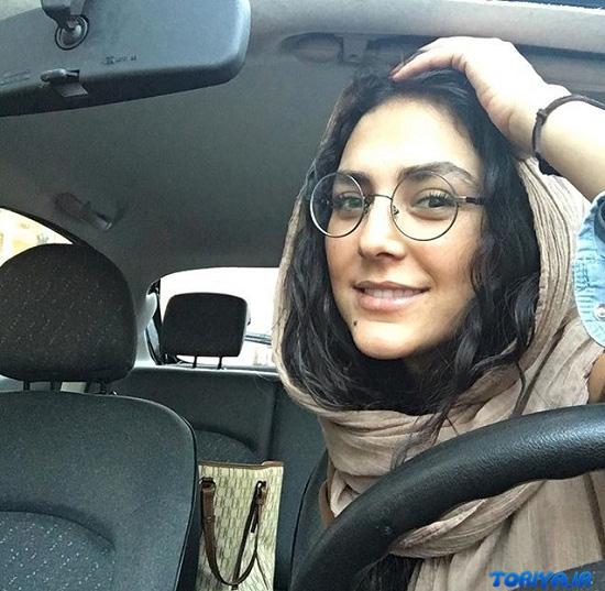 عکس هدی زین العابدین در سال 95