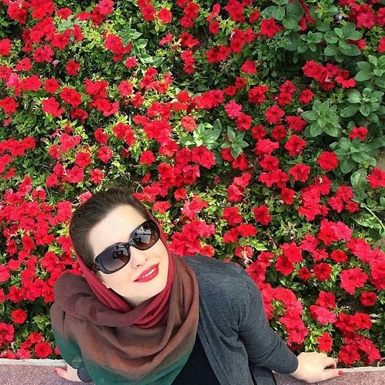 عکس های مهراوه شریفی نیا در بهار ۹۵