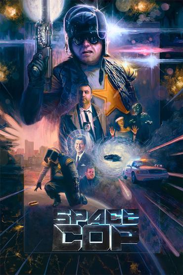دانلود فیلم Space Cop 2016