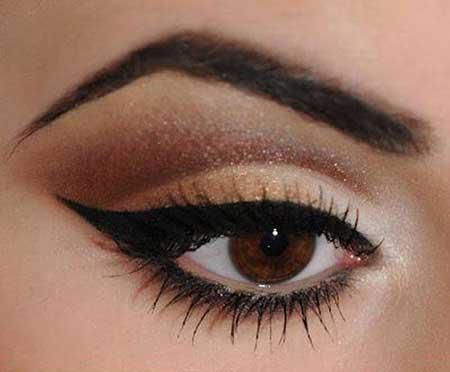 آرایش چشم تان را با این ترکیب رنگی ها زیباتر کنید!!