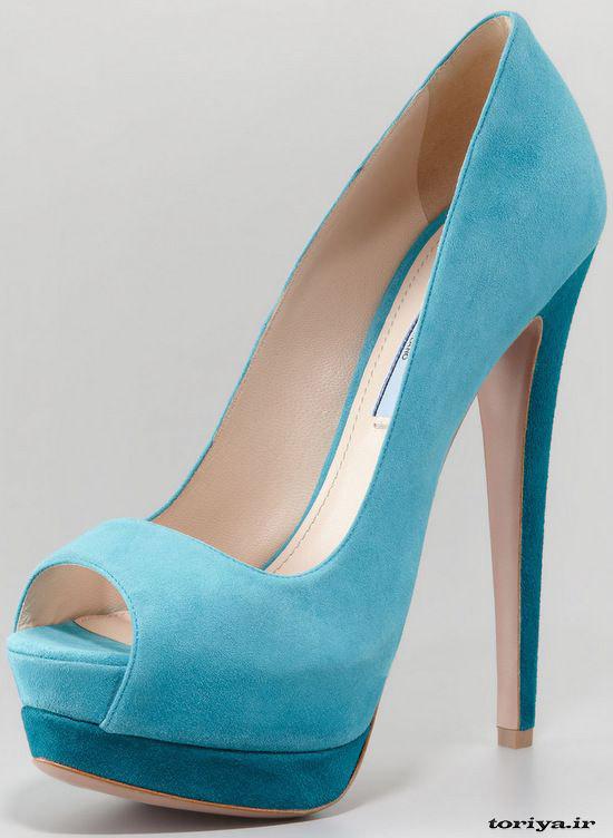 مدل کفش زنانه برند prada سال 95