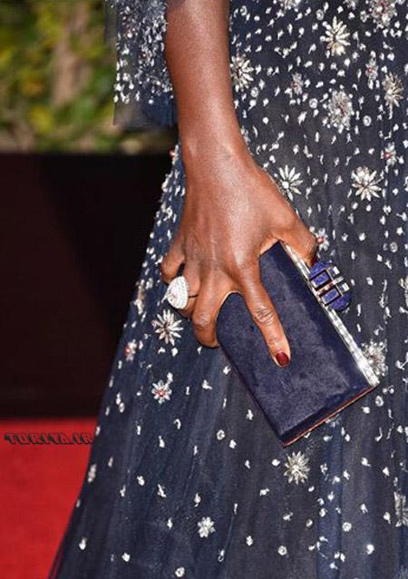 کیف ویولا دیویس Viola Davis در گلدن گلوب Golden Globes 2016