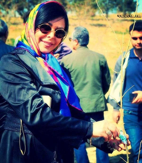 جدیدترین عکس های فلور نظری در بهار ۹۵