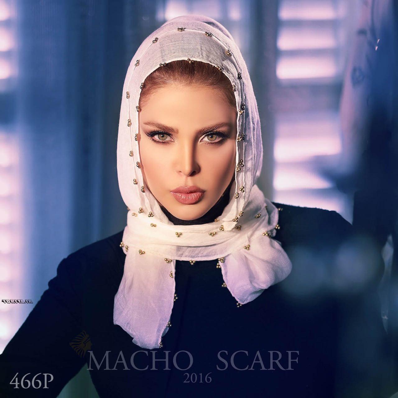 مدل های روسری زنانه برند ایرانی