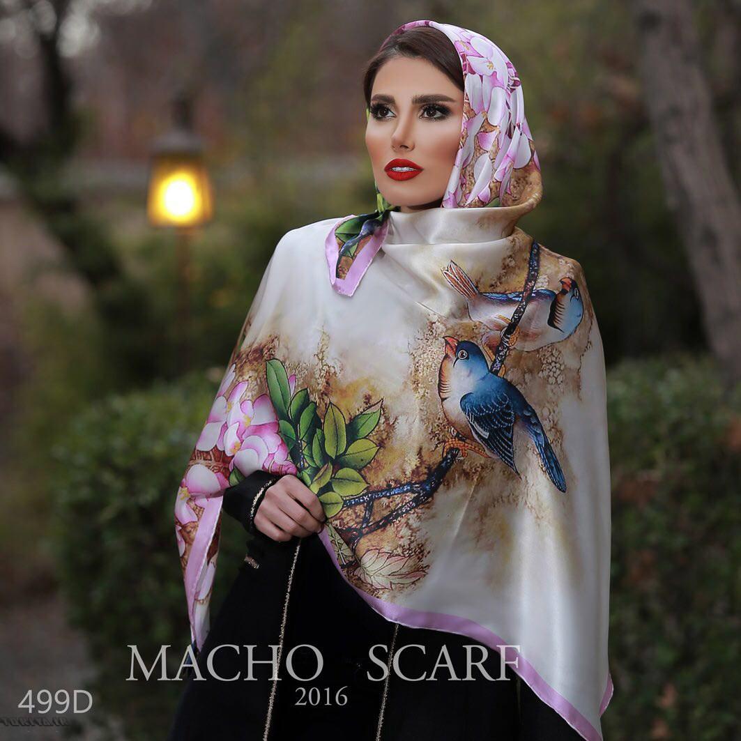 انواع مدل های شال ایرانی