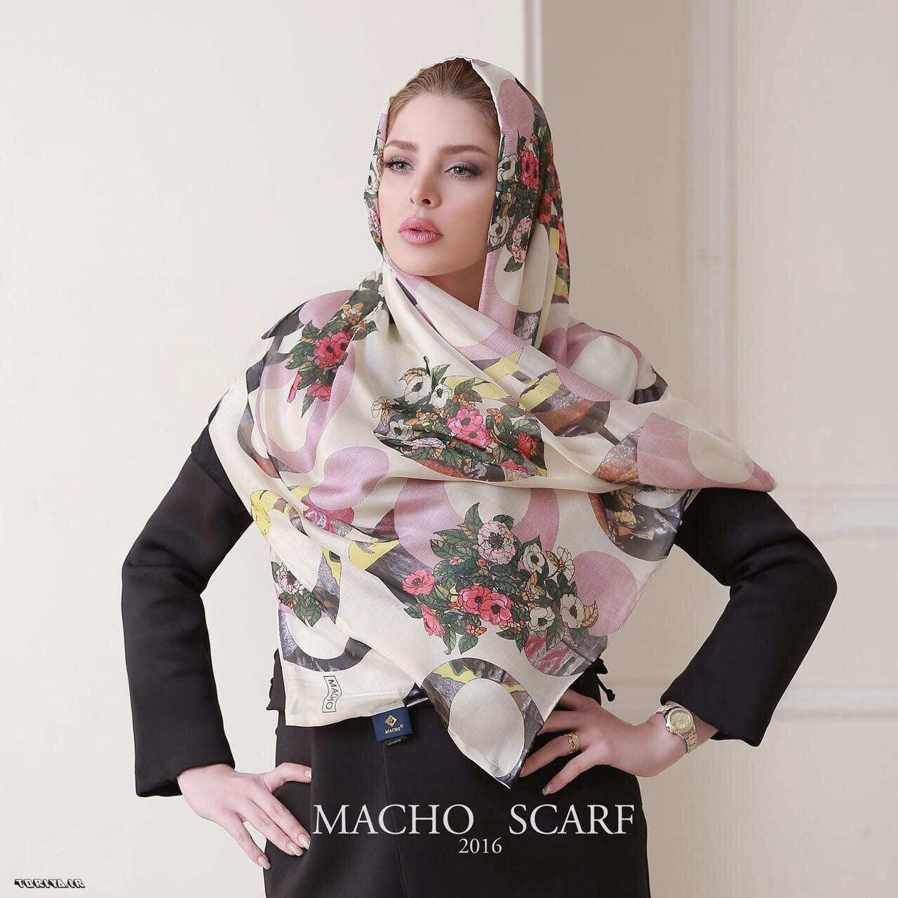 مدله شال و روسری بهاری