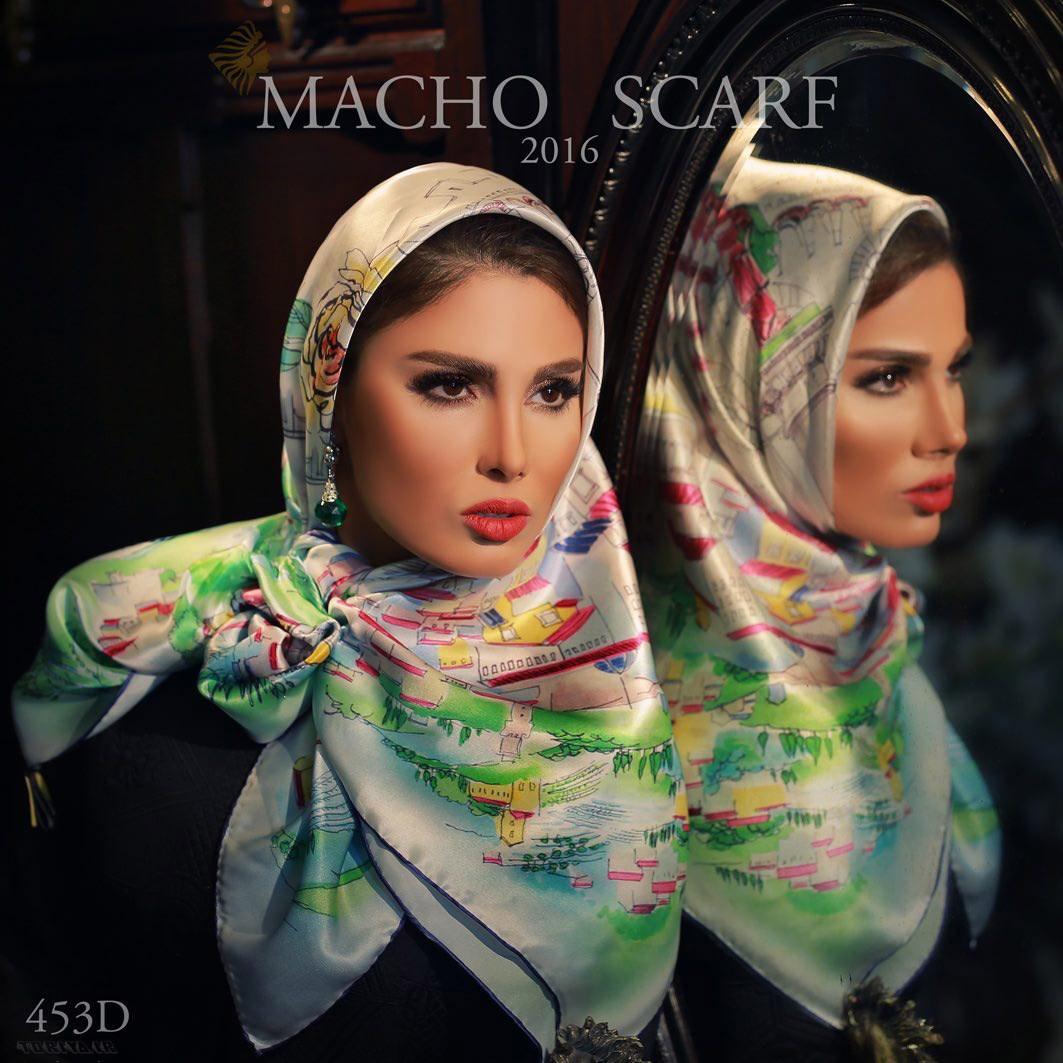 مدلهای  شال و روسری بهاری
