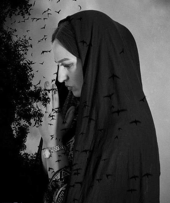 گلاره عباسی با چادر