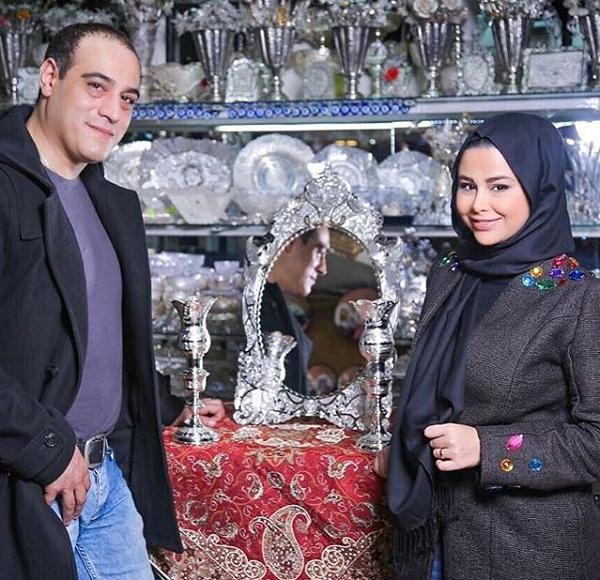 یاسمینا باهر و همسرش امیر یل ارجمند