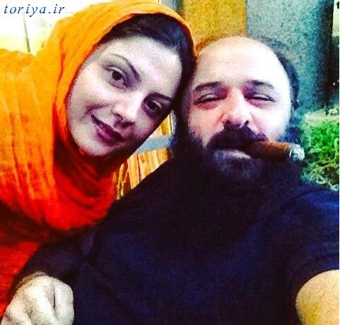 عکس سولماز غنی و همسرش
