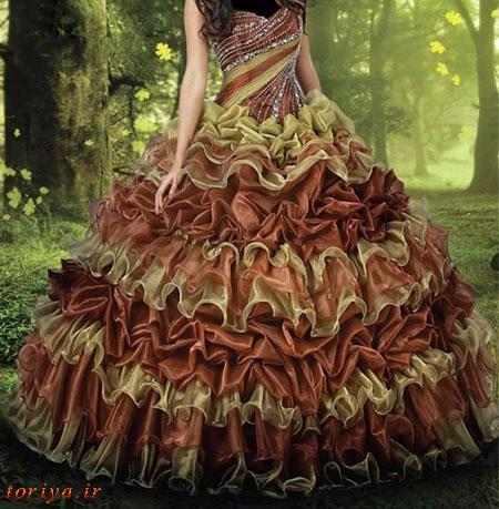 زیباترین مدلهای لباس نامزدی 95