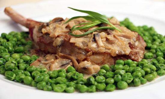 طبخ گوشت گوساله به سبک شرقیها
