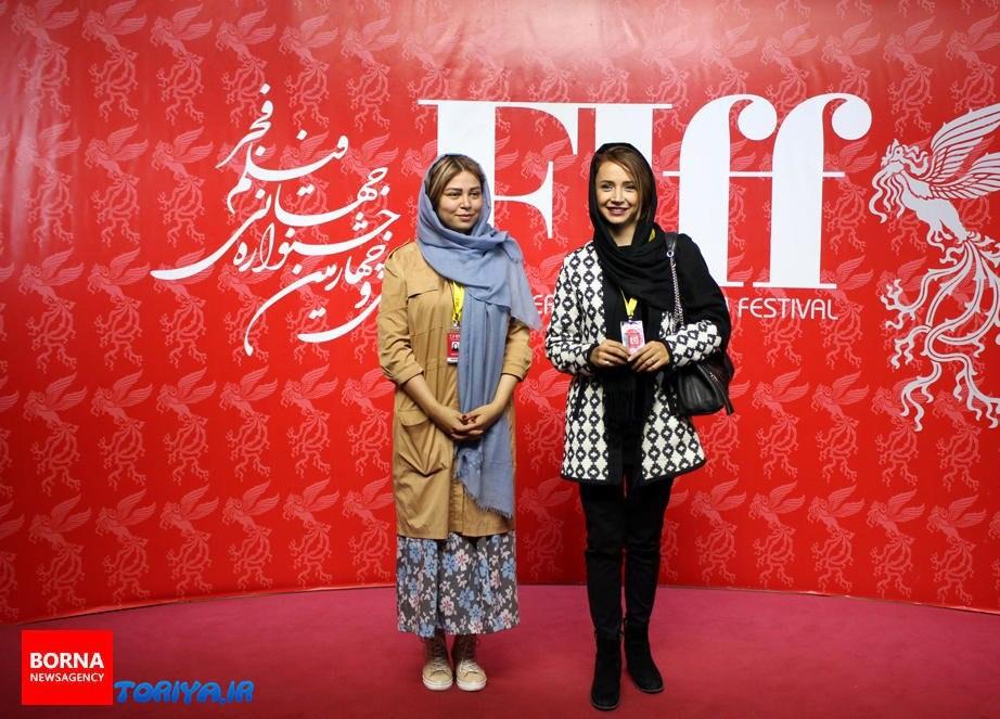 شبنم قلی خانی روی فرش قرمز جشنواره بین المللی فیلم فجر