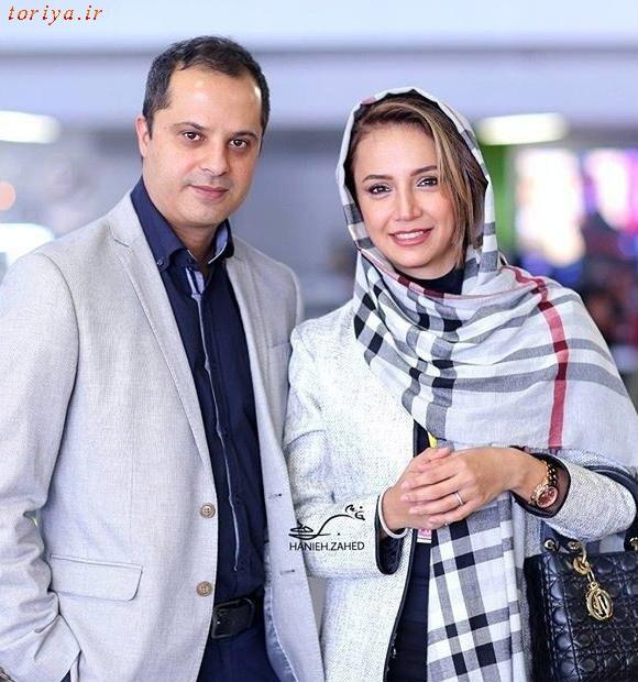 عکس شبنم قلی خانی و همسرش