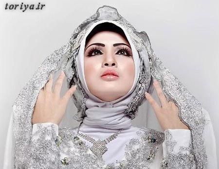 مدل زیبای تور عروس