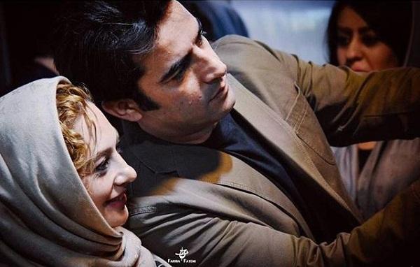 سلفی یکتا ناصر و همسرش
