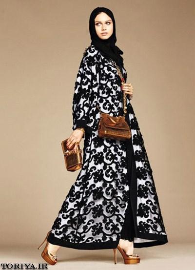 مدل مانتو عربی مجلسی دخترانه 95