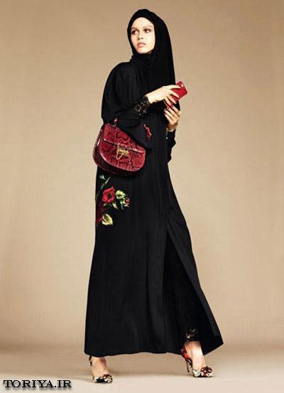 مدل مانتو عربی مجلسی دخترانه سال 95